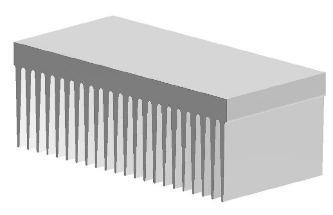 Heatsink KL-280(P16)/200 mm